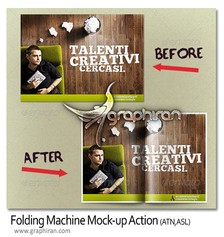Folding Machine Mock-up Action