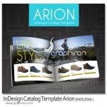 دانلود طرح کاتالوگ لایه باز حرفه ای برای Adobe InDesign