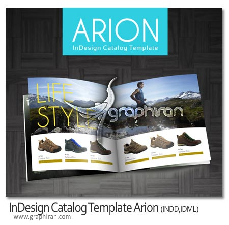 InDesign Catalog Template