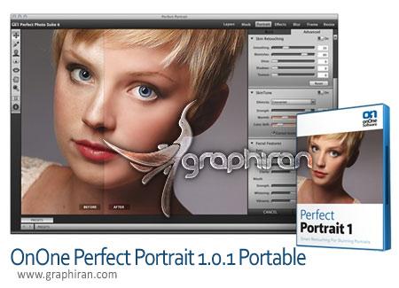 دانلود نرم افزار روتوش عکس پرتره OnOne Perfect Portrait v1.1.0