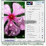دانلود پلاگین فتوشاپ برای طراحی ستاره StarFilter Pro v2.06