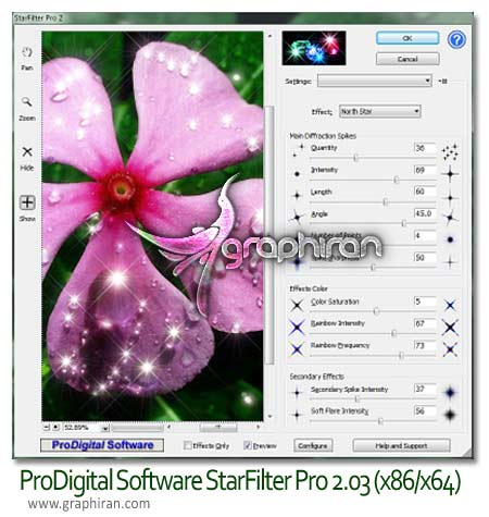 ProDigital Software StarFilter Pro 2.03