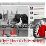پلاگین فتوشاپ حفظ رنگ انتخابی در عکس Tintii Photo Filter 2.8.2