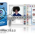 نرم افزار مدیریت وبکم و ارسال ویدئو جعلی WebcamMax 8.0.7.8