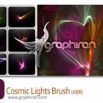 دانلود براش فتوشاپ نورهای کیهانی – Cosmic Light Brush