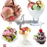 دانلود عکس های استوک انواع بستنی – Ice Cream Stock Photo
