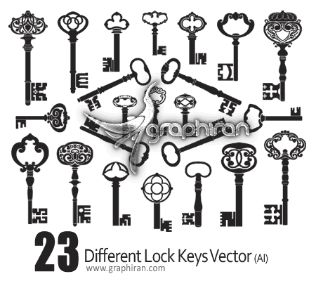 lock key vector