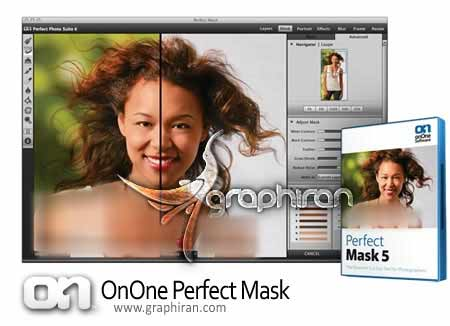 perfect mask نرم افزار حذف پس زمینه عکس OnOne Perfect Mask 5.2.3 Premium Edition