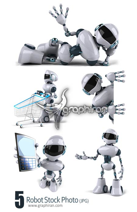 roboto stock photo