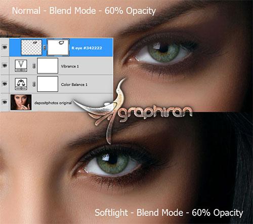 آرایش عکس در فتوشاپ