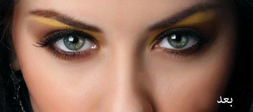 6 2 آموزش تصویری تکنیک های حرفه ای آرایش صورت در فتوشاپ