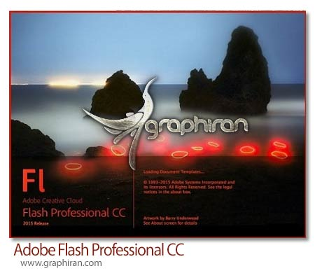 Adobe Flash Professional CC دانلود Adobe Flash Professional CC 2015 15.0.0 Final نرم افزار طراحی فلش