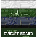 دانلود پترن فتوشاپ مدار الکترونیکی – Circuit Board Pattern