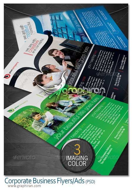 Corporate Business Flyers Ads