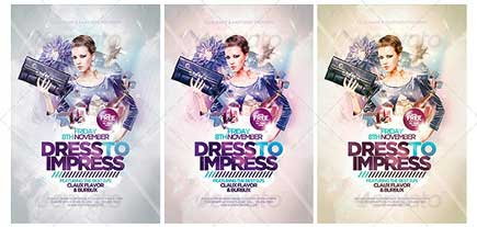 Dress To Impress Flyer Template