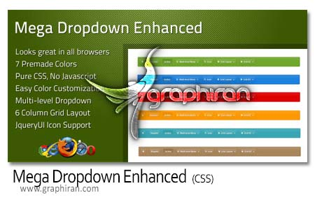 Mega Dropdown Enhanced