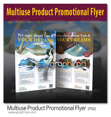 Multiuse Product Promotional Flyer