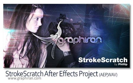 پروژه افتر افکت StrokeScratch
