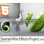 Voxel Channel 150x150 دانلود رایگان پروژه جدید افتر افکت نمایش لوگو با افکت آب
