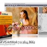 نرم افزار مبدل عکس به نقاشی هنری AKVIS ArtWork 8.1.1741.11132
