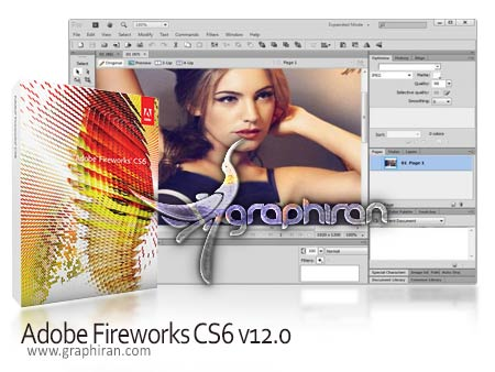 Adobe Fireworks CS6 v12.0