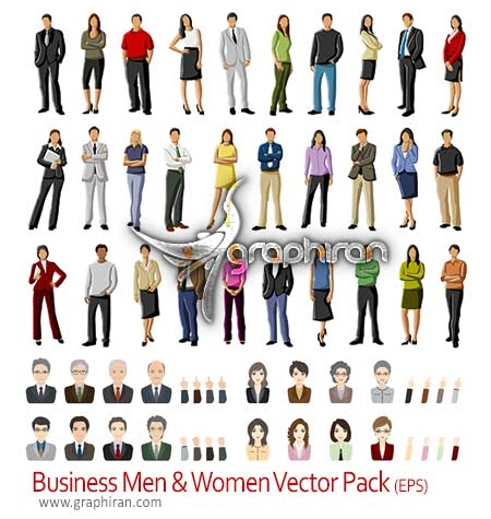 Business Vector People Pack