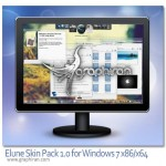 دانلود پک تغییر شکل ویندوز سون Elune Skin Pack 1.0 Windows 7