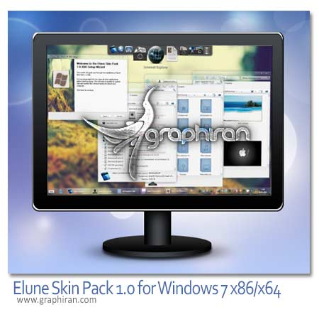 Elune Skin Pack 1.0 for Windows 7