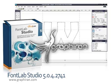 FontLab Studio 5.0.4.2741 دانلود نرم افزار طراحی و ساخت فونت FontLab Studio 5.0.4.2741