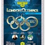 دانلود پوستر PSD لایه باز المپیک لندن – London Olympics Flyer