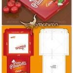 دانلود قالب و الگوی بسته بندی جعبه پیتزا – Pizza Box Package