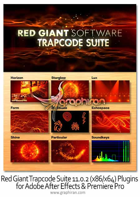 Red Giant Trapcode Suite 11.0.2 Plugins for Adobe After Effects & Premiere Pro