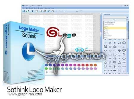 نرم افزار طراحی لوگو با حجم کمSothink Logo Maker Pro