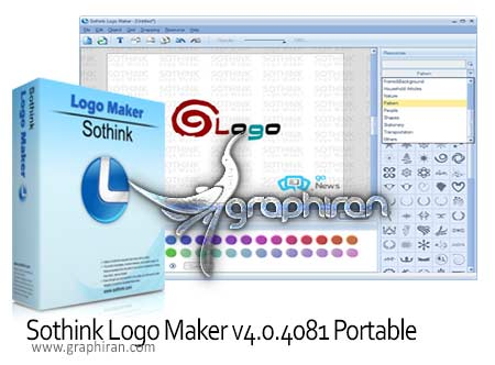 Sothink Logo Maker v4.0.4081 Portable نرم افزار طراحی لوگو Sothink Logo Maker v4.0.4081 Portable