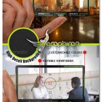 Translucent Photographer Business Card PSD 150x150 کارت ویزیت شفاف لایه باز شغل های مرتبط با رسانه – شماره ۲۹۱