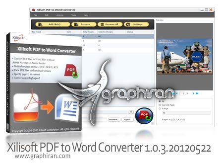 Xilisoft PDF to Word Converter 1.0.3