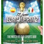 دانلود پوستر جام ملت های اروپا ۲۰۱۲ به صورت PSD لایه باز