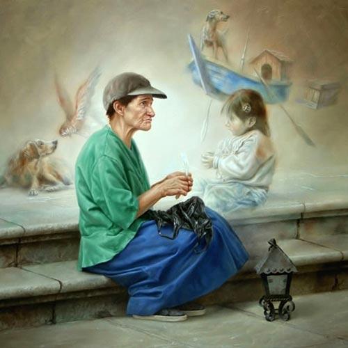 gn10 آثار نقاشی سورئال و انتزاعی Johnny Palacios از کشور اسپانیا