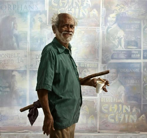 gn2 آثار نقاشی سورئال و انتزاعی Johnny Palacios از کشور اسپانیا