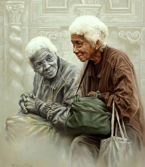 پیر زن