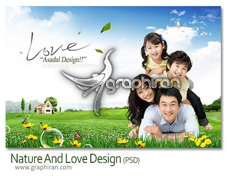 nature design psd