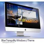 دانلود تم جدید و آرامش بخش ویندوز ۷ Blue Tranquility Theme