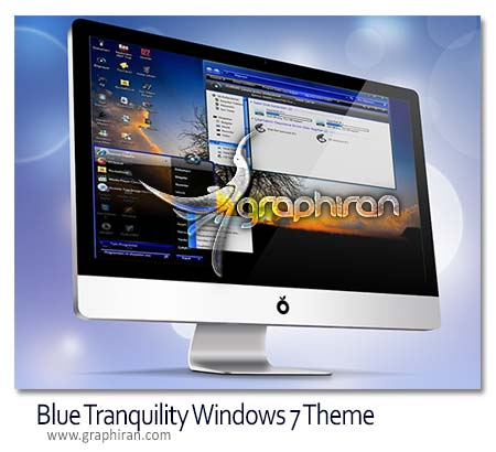 Blue Tranquility Theme For Win 7