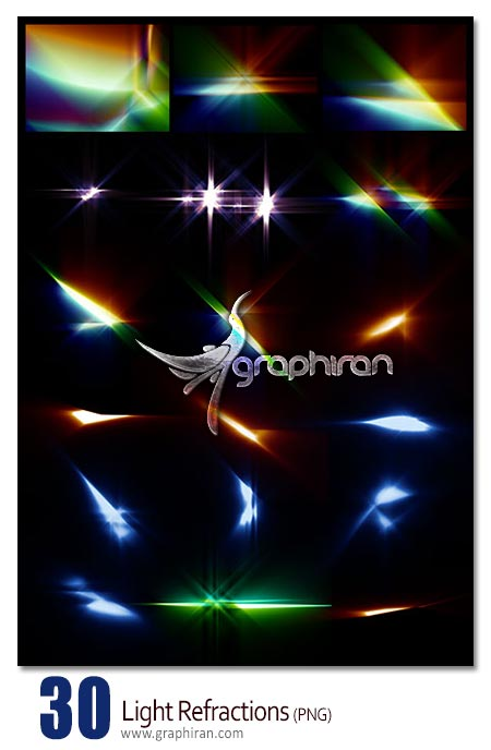 Light Refractions PNG