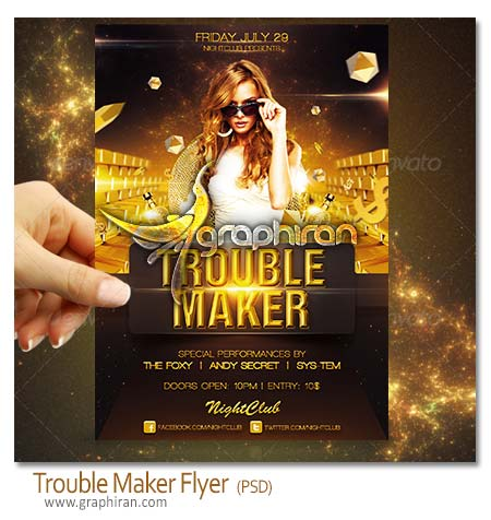 Trouble Maker Flyer