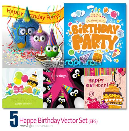 birthday vector