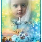 دانلود قاب عکس رویایی کودک با تصاویر افسانه های کودکانه