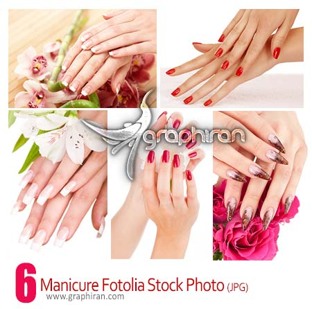 manicure fotolia stock photo