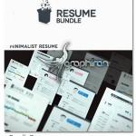 resume bundle 150x150 دانلود نمونه آماده رزومه کاری و کارت ویزیت شرکت PSD لایه باز