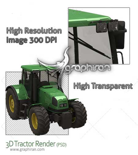 tractor psd